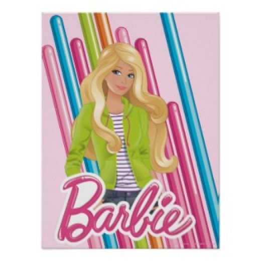 Barbie posters and other items available by clicking the source link.