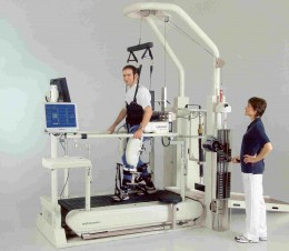 Automated Locomat Machine for stroke rehab