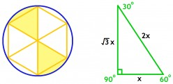 Inscribed Circles and Hexagons   7 Hard Geometry Problems