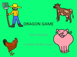 Free English Learning Game: Farm Animals