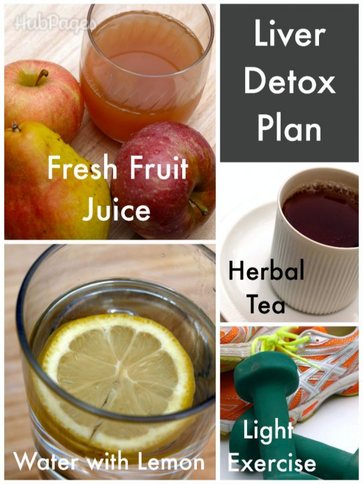 Liver detox cleanse you can do at home.