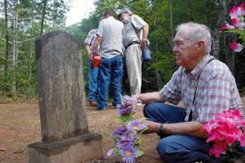 Loved ones decorate family and friends' graves at decorations