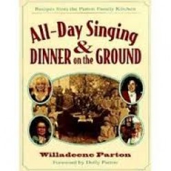 Books are sold to commemorate the all- day singings