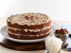 Holiday Baking - German Chocolate Cake Recipe