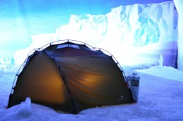 I hope it isn't this cold when you do your camping scavenger hunt!