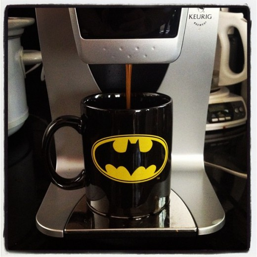 A Cup of Crime Fighting Coffee Courtesy of Kuerig