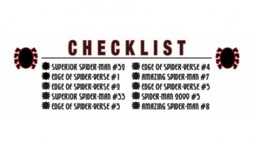 Edge of Spider-verse checklist