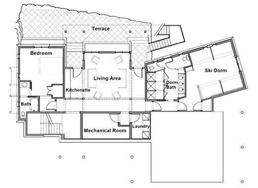 Main Level Plan (shown above)