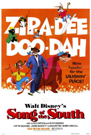 Zip-A-Dee-Doo-Dah Song of the South Movie Poster