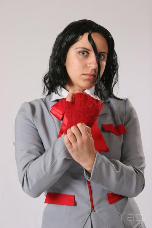 Rukia in school uniform