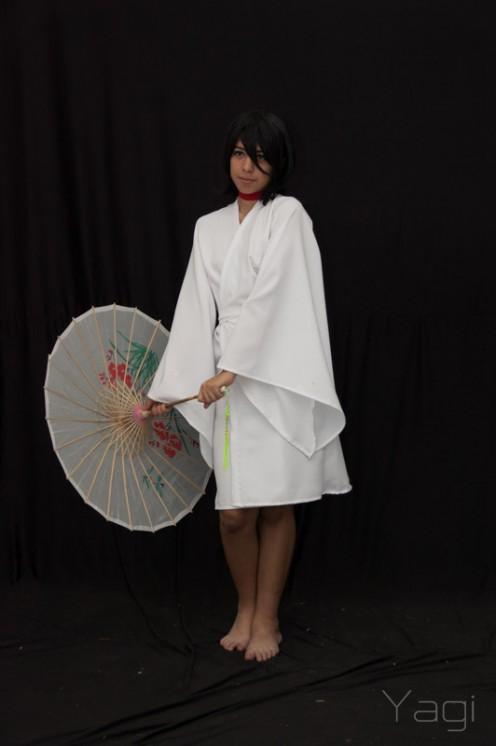 Rukia in white kimono