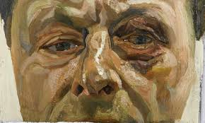 Lucian Freud, self- portrait