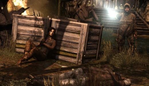 Tomb Raider PS3 gameplay