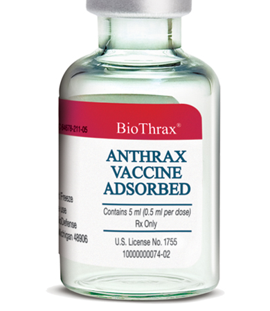 The anthrax vaccine is a truly bad idea. The U.S. has wasted billions of dollars on it, and it just seems to go from bad to worse.