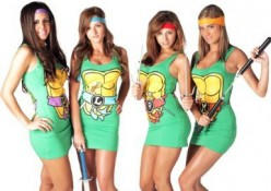 Teenage Mutant Ninja Turtles Costume for Women
