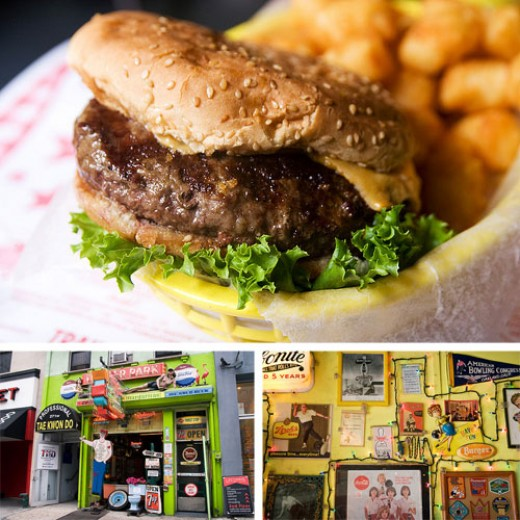Trailer Park Lounge: food.