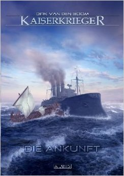 KaiserKrieger by Dirk van den Boom. I really like the cover art by Timo Kümmel