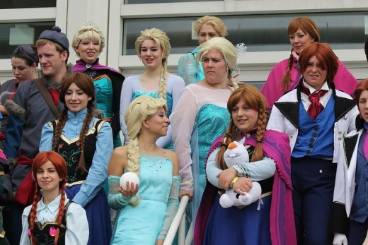 Create a Disney fairy tale this Halloween with Frozen