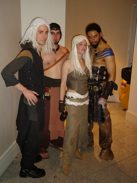 Khalesi Daenerys isn't a bad idea for Halloween costume