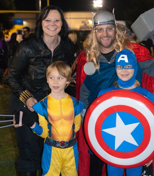 Cast your whole family as the Avengers this Halloween