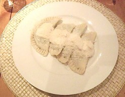 Vegetarian Pasta Recipes : Pansotti di Rapallo with Walnut Sauce