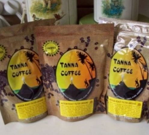 Tanna Coffee.   Image by Snakesmum