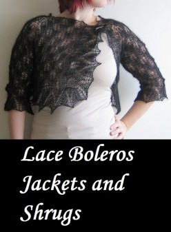Lace Boleros Jackets and Shrugs