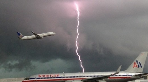 Thunder is a common event during a flight. The chances of it causing catastrophic damage or fatality is extremely low.