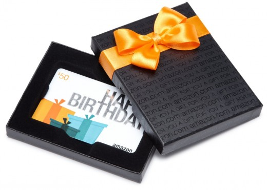 Amazon Gift Cards in a Box