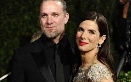 Jesse James, left, cheated on his lovely wife, actress/superstar, Sandra Bullock
