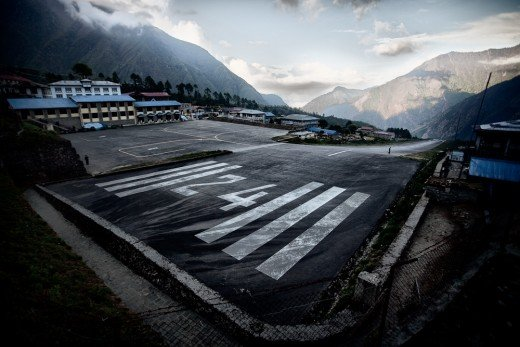 One of the most famous (and dangerous airport), Lukla