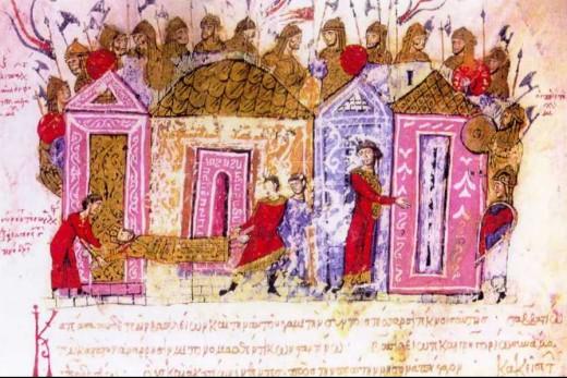Varangian Guard 12th century manuscript