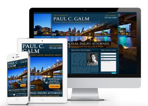 High quality legal website templates with responsive law firm web design