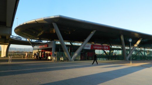 It is very easy to get the train from Malaga Airport