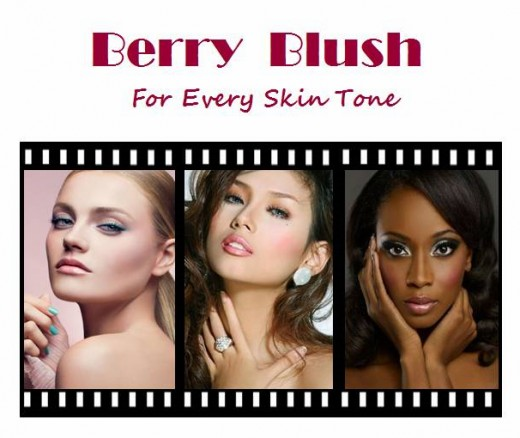 Berry Colored Blush Suits All Skin Tones