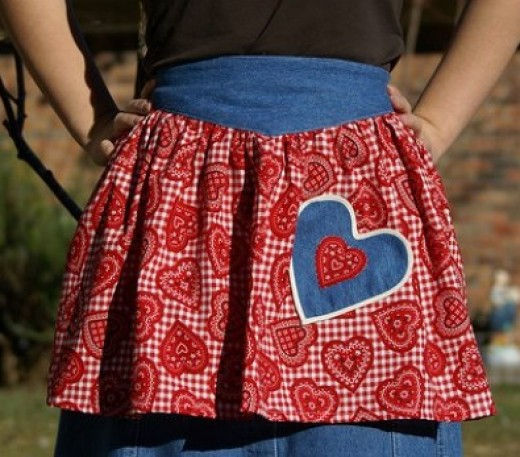 Aprons For Valentine's Day