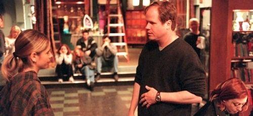 Joss Whedon Directing Sarah Michelle Gellar in Buffy: The Vampire Slayer (TV Series)