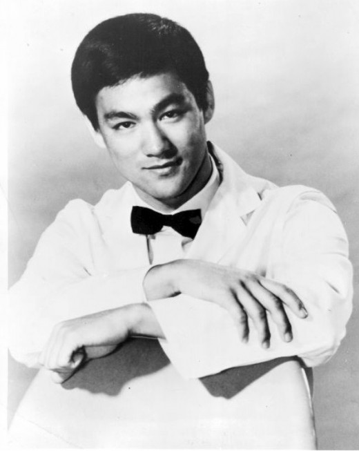 Bruce Lee as Kato, in 1967.