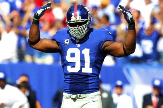 Justin Tuck is a fearsome pass rusher still, even at the age of 31
