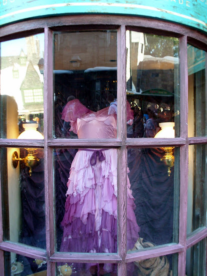 Hermione's Yule Ball gown.