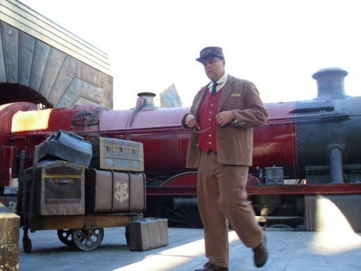 The conductor of the Hogwart's Express.