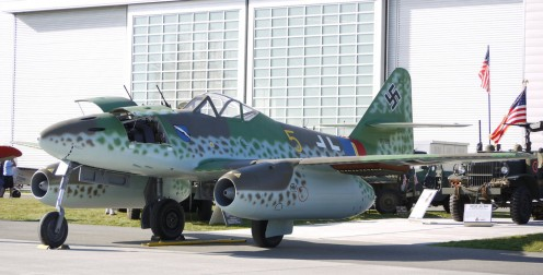 The first operational jet fighter. Me-262