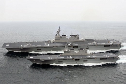 Modern navy fleet power by gas turbines