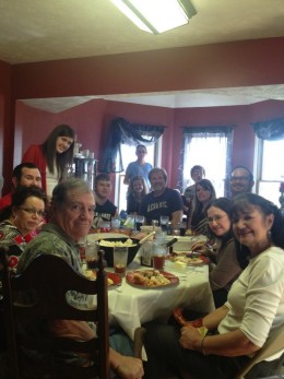 My family at Thanksgiving