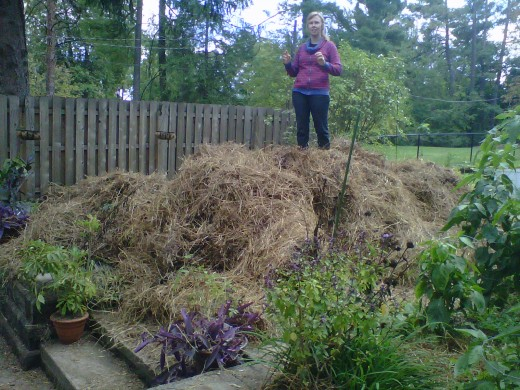Fall Mulch for the Garden Beds