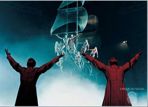 Cirque du Soleil acrobatics