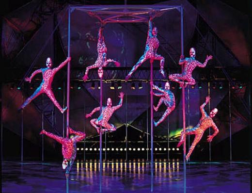 Cirque du Soleil awesome show