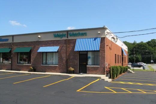 Weight Watchers centers often sell small snack and meal items which have PointsPlus values pre-calculated.