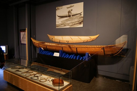 Prince of Wales Northern Heritage Centre: Aboriginal watercraft.