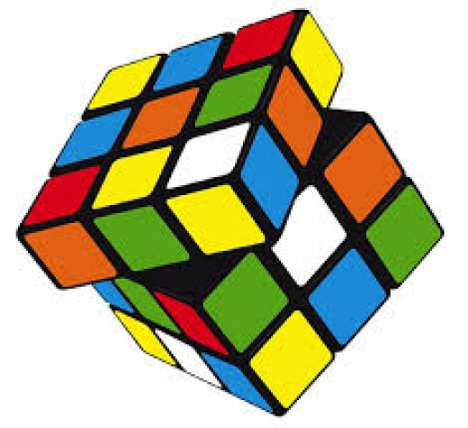 Rubik's Cube. Source: Google Image Search
